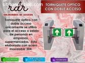 TORNIQUETE OPTICO CON DOBLE ACCESO- RDR