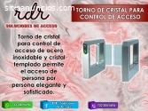 TORNO DE CRISTAL PARA CONTROL DE ACCESO-