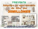 VENDO APARTAMENTOS DE  60M² POR 35MILLON